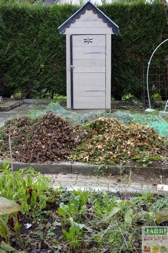 paillis de feuilles mortes