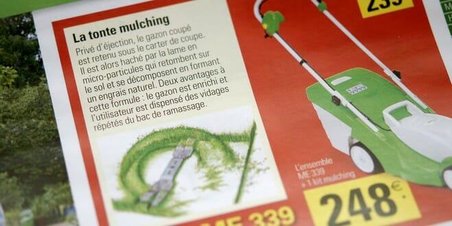 Une tondeuse mulching ou avec bac de ramassage ?