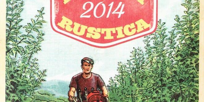 agenda rustica vintage 2014
