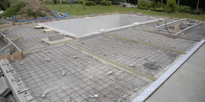 Local technique piscine installation du syst me de for Construire un local technique pour piscine
