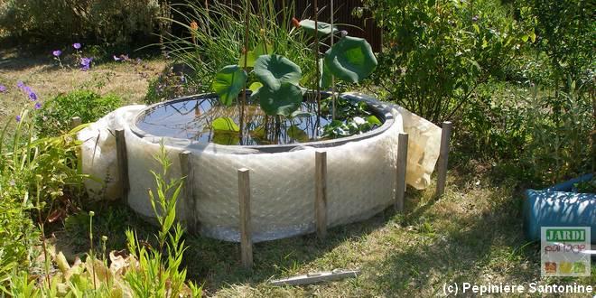 Quel entretien du bassin avant l 39 hiver jardipartage - Petit bassin plastique villeurbanne ...