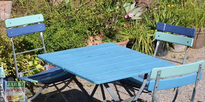 Quelle table de jardin sans entretien choisir | Jardipartage