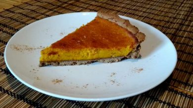 tarte au potimarron sucree