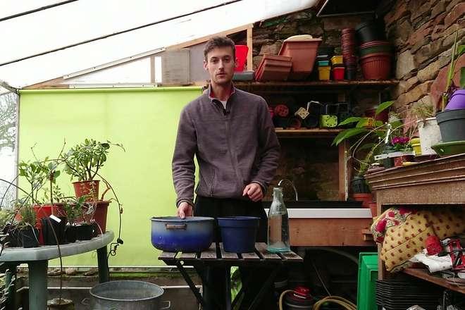 video comment faire un pralin pour planter un rosier ou un arbre fruitier