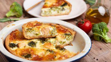 tarte brocolis saumon