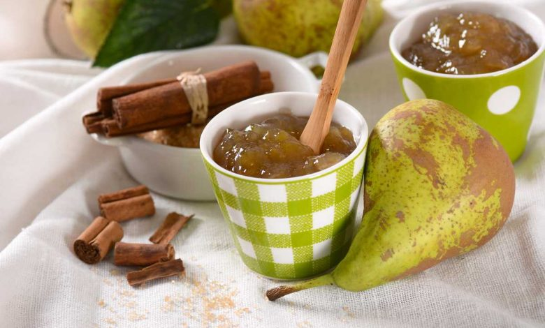 confiture de poires pommes