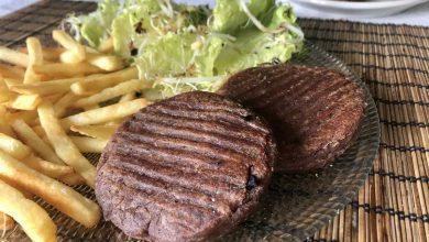 steak végétal haricot rouge